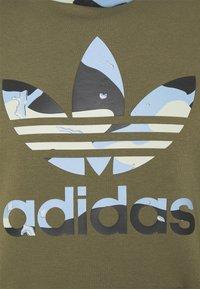 adidas Originals - CAMO HOODY - Felpa - focus olive - 7