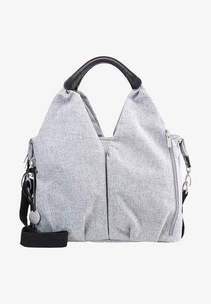 NECKLINE BAG - Luiertas - black melange