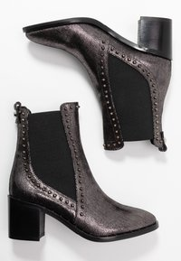 Liu Jo Jeans - OLIVIA - Classic ankle boots - pewter - 3