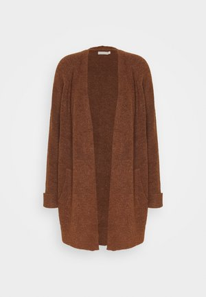 PCELLEN  - Strickjacke - mocha bisque
