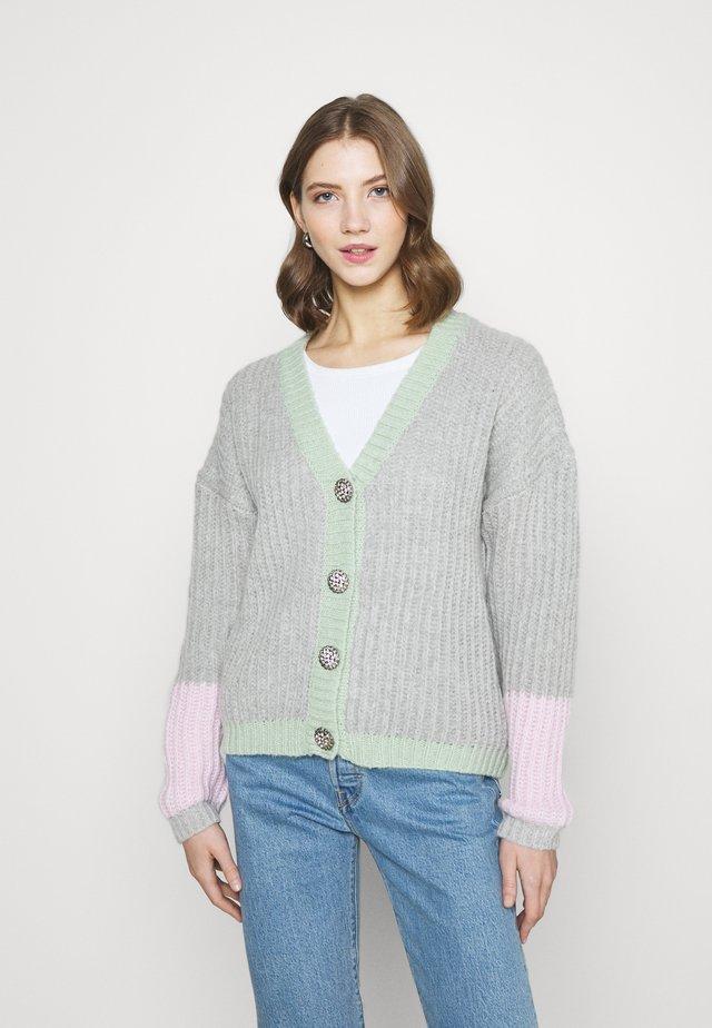 VINSE - Cardigan - light grey melange