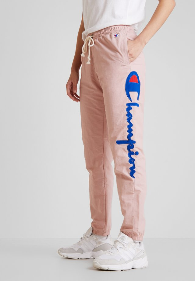 ELASTIC CUFF PANTS - Pantalones deportivos - lilac
