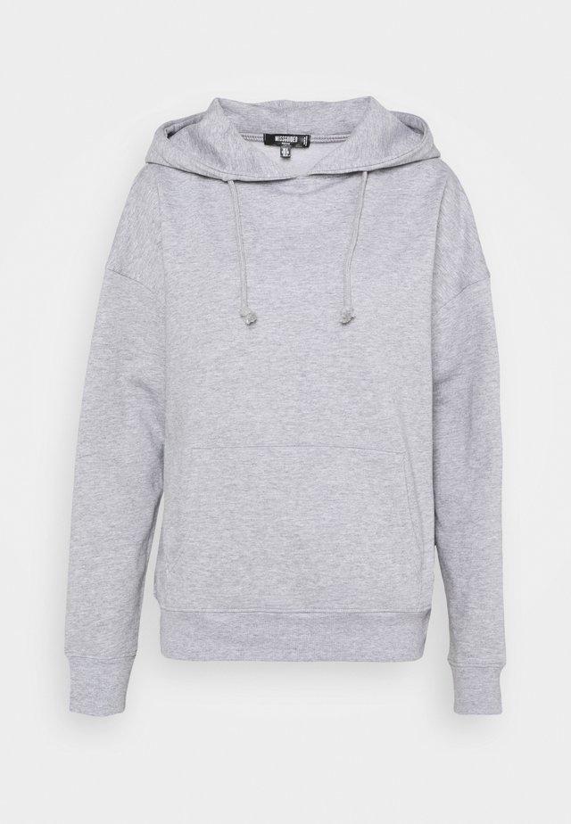 BASIC HOODY - Bluza - grey