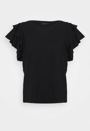 JISANE - Basic T-shirt - black
