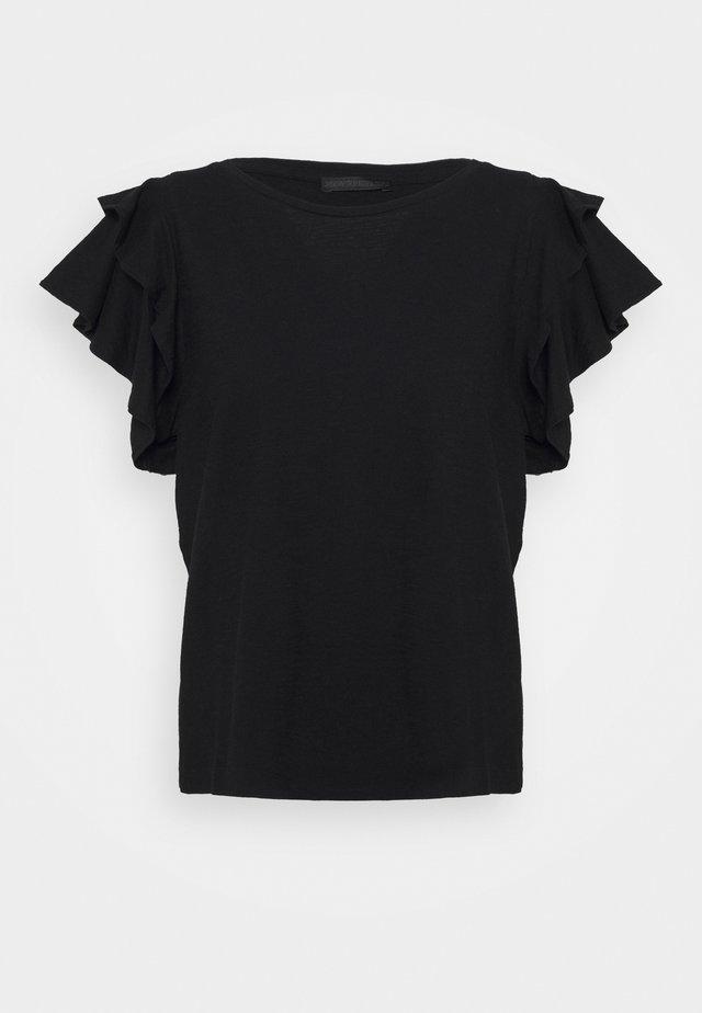JISANE - T-Shirt basic - black