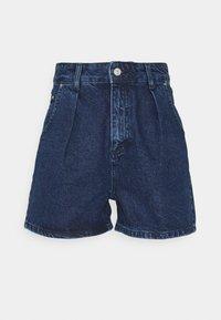Trendyol - MAVI - Denim shorts - blue - 0