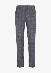 Isaac Dewhirst - BLUE CHECK 3PCS SUIT SUIT - Suit - blue - 5