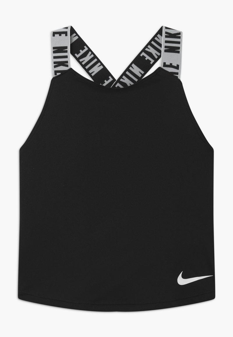Nike Performance - DRY TANK ELASTIKA - Sportshirt - black/white