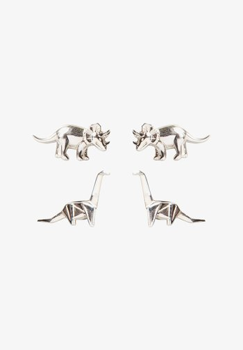 ISLA NUBLAR DINO SET OF TWO - Earrings - silver