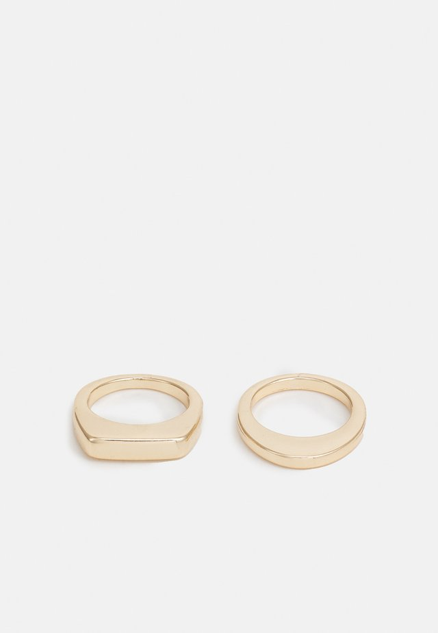 AYLA 2 PACK - Ring - gold-coloured