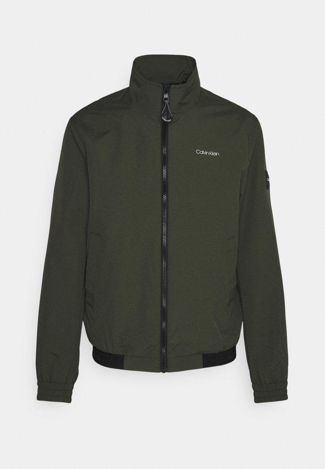 ESSENTIAL BLOUSON - Summer jacket - dark olive