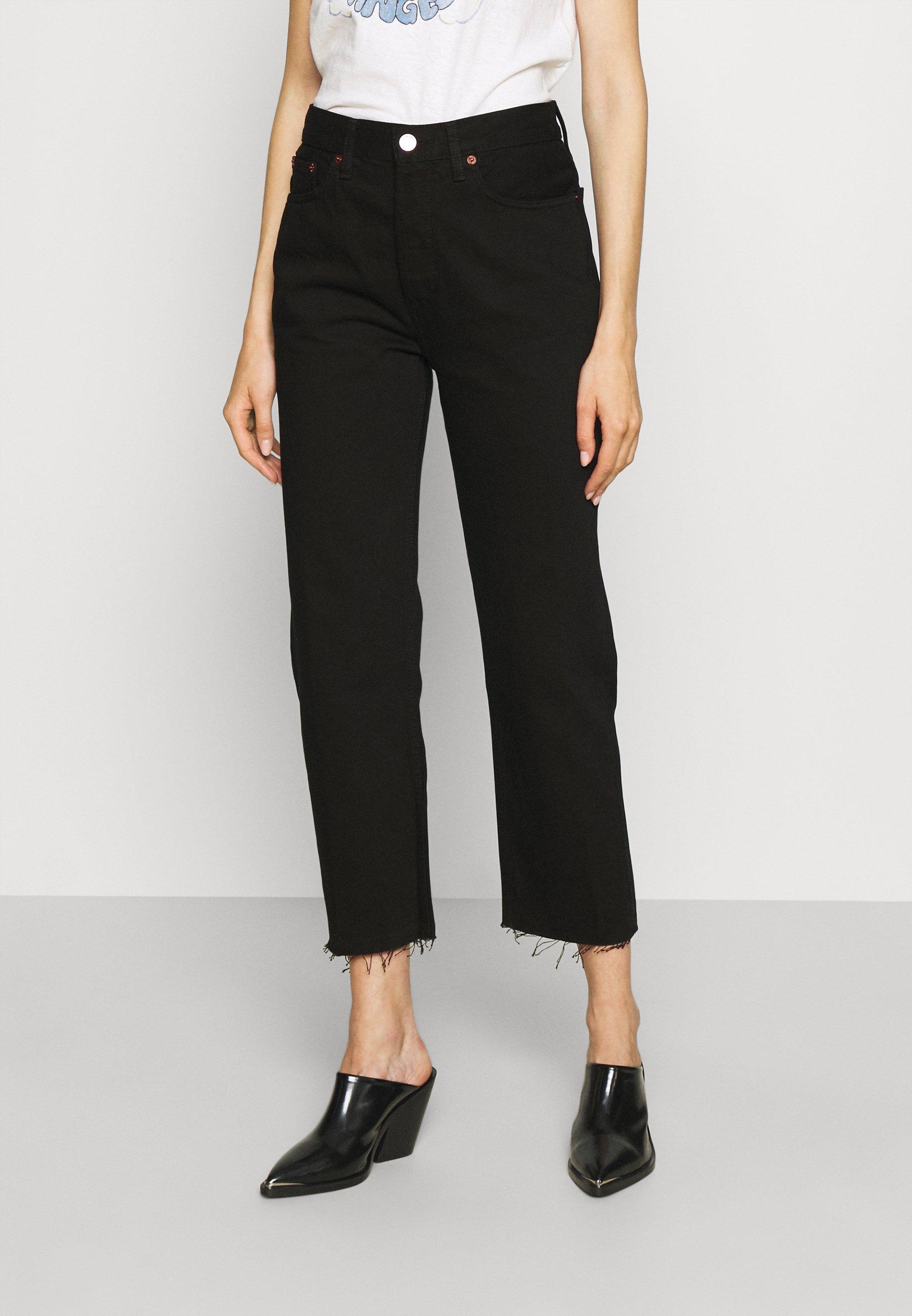 Women 70S STOVE PIPE - Straight leg jeans