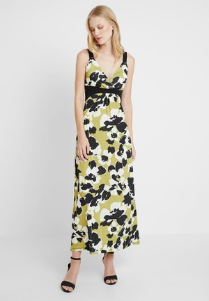 Maxi dress - light green/black