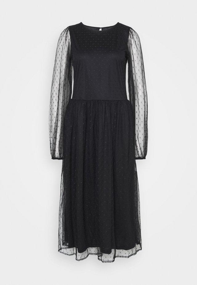 YASLISSO MIDI DRESS  - Korte jurk - black
