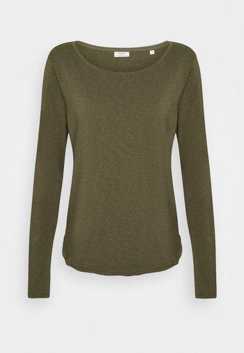 T-shirt à manches longues - utility olive