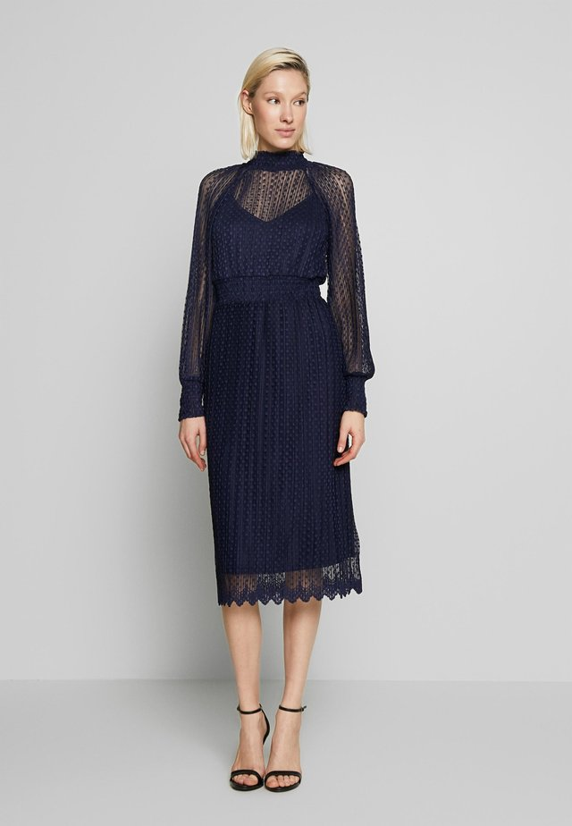 WHISPER MIDI DRESS - Day dress - navy