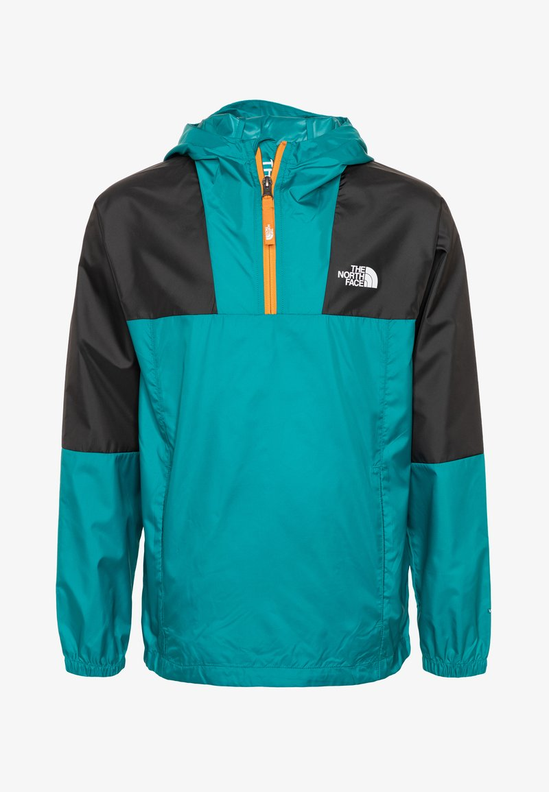 The North Face - YOUTH YAFITA WIND 1/4 ZIP - Outdoorjas - fanfare green