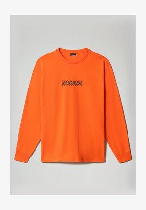 S-BOX LS - Bluzka z długim rękawem - orangeade