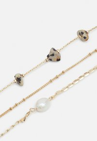 Topshop - STATION CHIPPINGS ANKLET 3 PACK - Other accessories - gold-coloured - 2