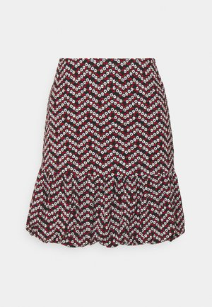 ONLPELLA BALOON SKIRT - Mini skirt - black