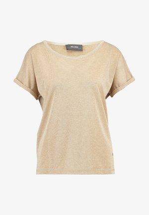 KAY TEE - T-shirt imprimé - gold
