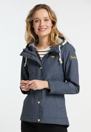 Outdoor jacket - melange marin