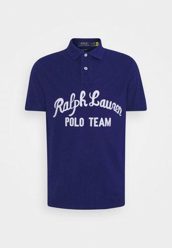 Polo shirt - fall royal
