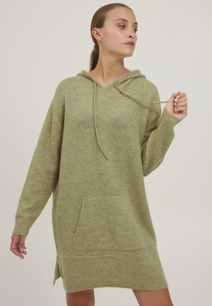 PZASTRID - Jumper - gray green melange