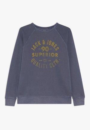 JJE WASHED CREW NECK  - Sweatshirt - navy blazer