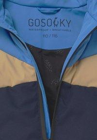 Gosoaky - WORKING WEASEL UNISEX - Winter jacket - marina blue/multicolour - 3