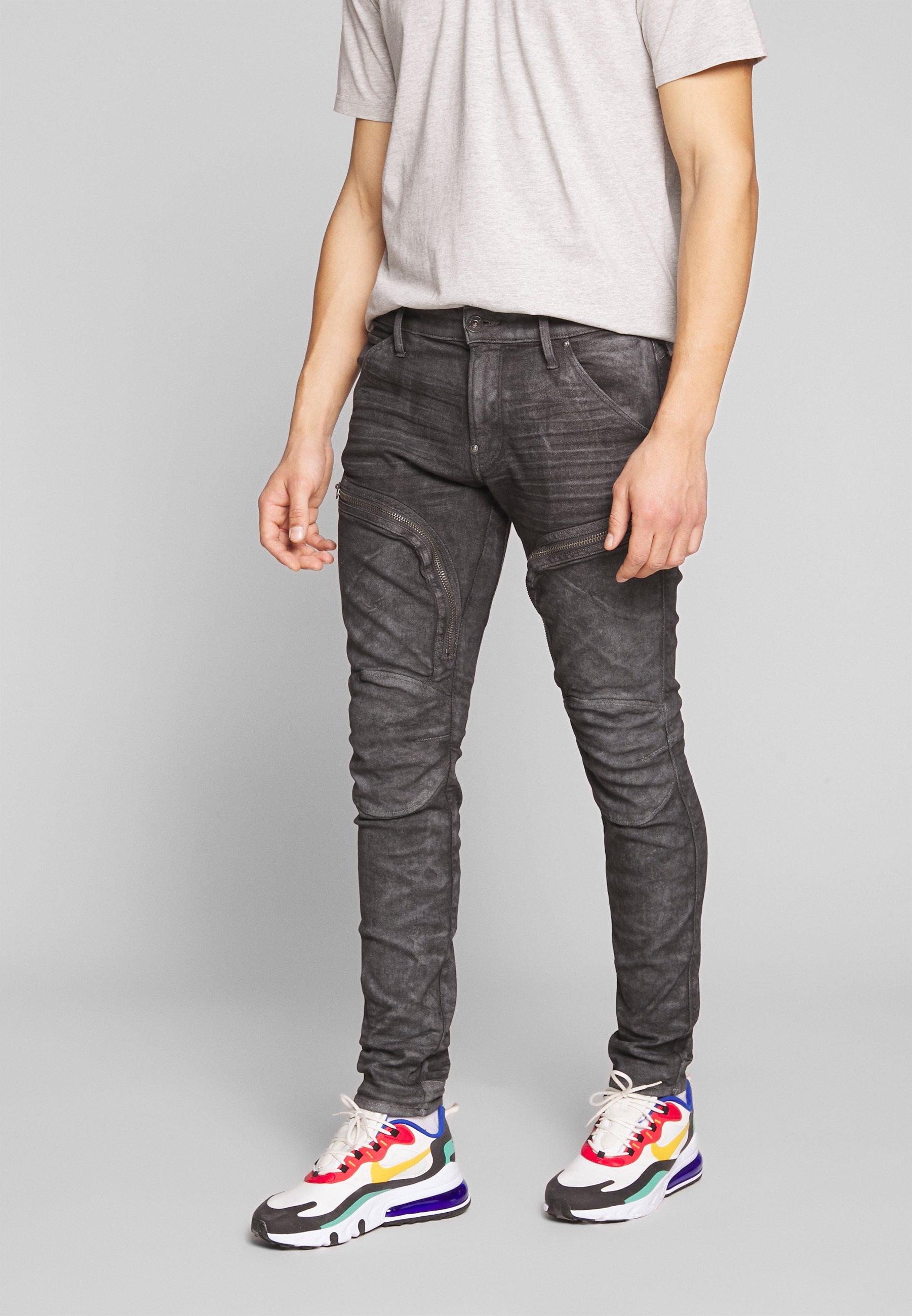 Herren AIR DEFENCE ZIP SKINNY - Jeans Skinny Fit