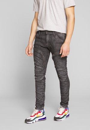 AIR DEFENCE ZIP SKINNY - Jeans Skinny Fit - grey denim