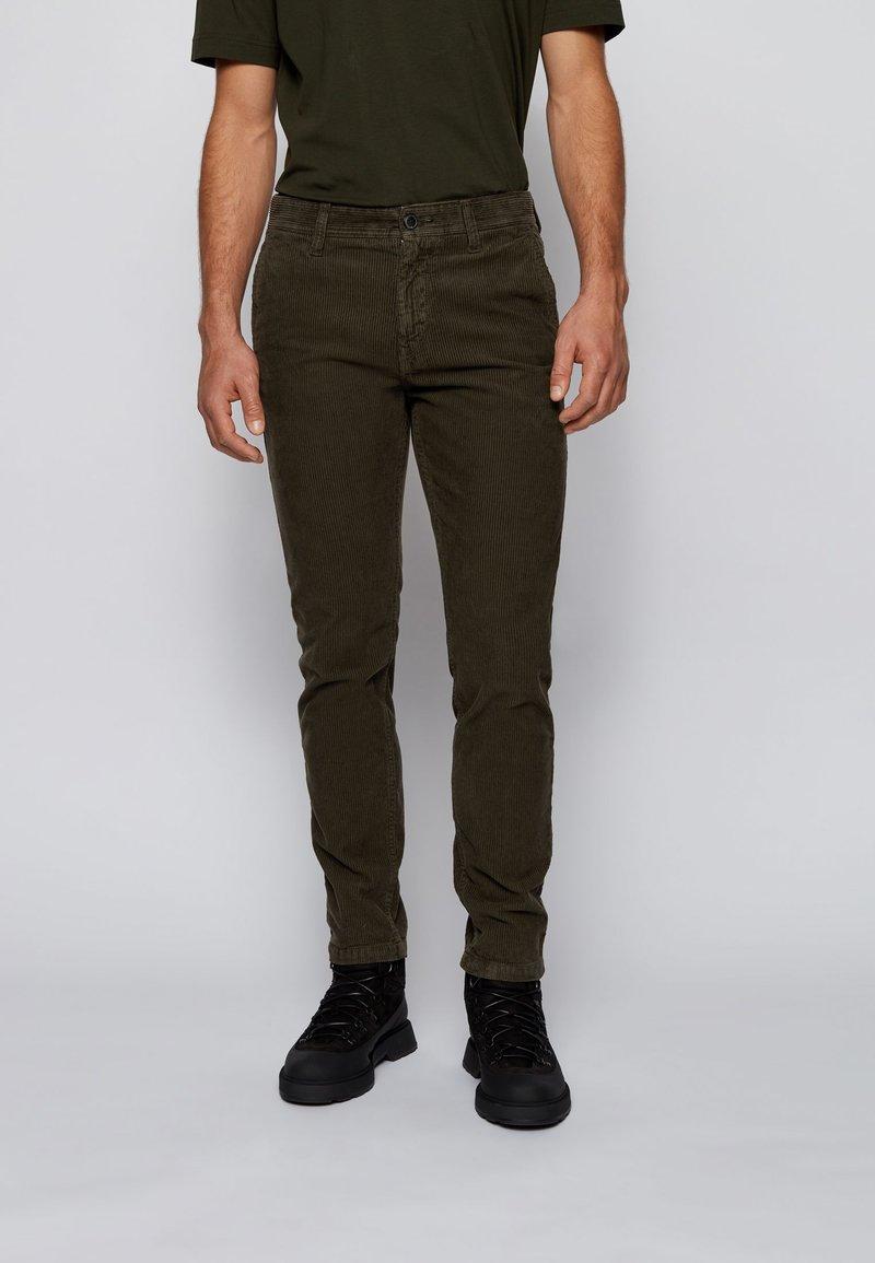 BOSS - SCHINO-TABER - Trousers - open green