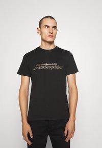 AUTOMOBILI LAMBORGHINI - T-shirt con stampa - nero - 0