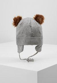 Name it - NBMMOE HAT - Muts - grey melange - 3