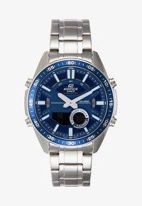 EDIFICE - Montre à aiguilles - silver-coloured/blue - 1