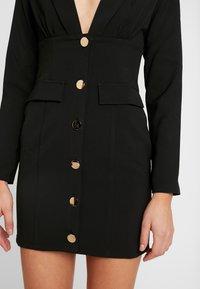 4th & Reckless - PIMLICO - Robe chemise - black - 6