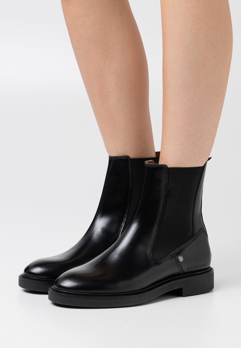 G-Star - CORBEL CHELSEA BOOT - Classic ankle boots - black