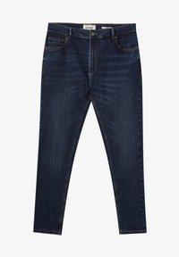 PULL&BEAR - Slim fit -farkut - dark blue - 5