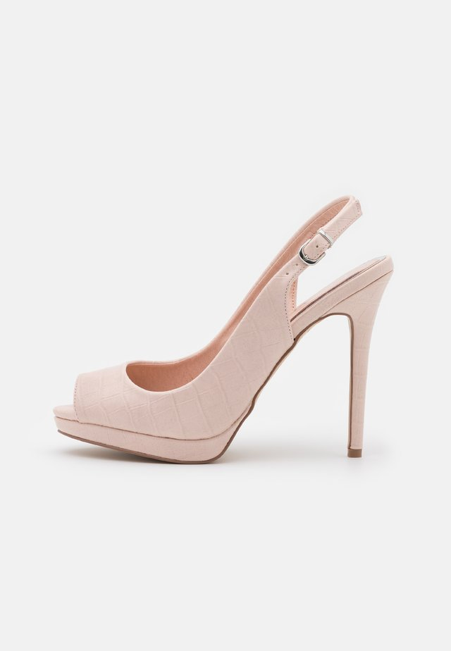 DALLAS - Spuntate alte - blush