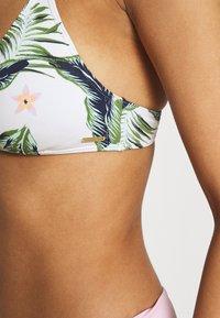 Roxy - BLOOM - Bikini top - bright white praslin - 5