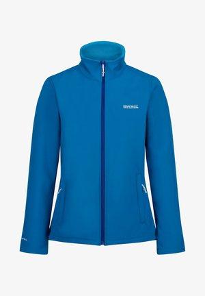 Soft shell jacket - petrol(atla)