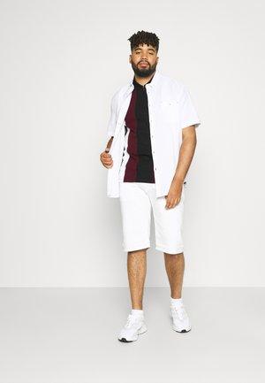 ETON VERTICAL SPLICE - Polo shirt - burgundy