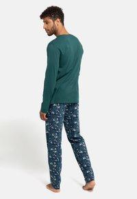 Schiesser - Pyjama set - grün - 1