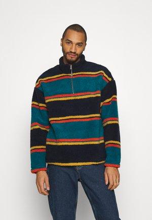 STRIPE BORG  - Fleece jumper - multi-coloured