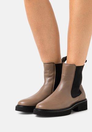 KATHY  - Platform ankle boots - dark taupe