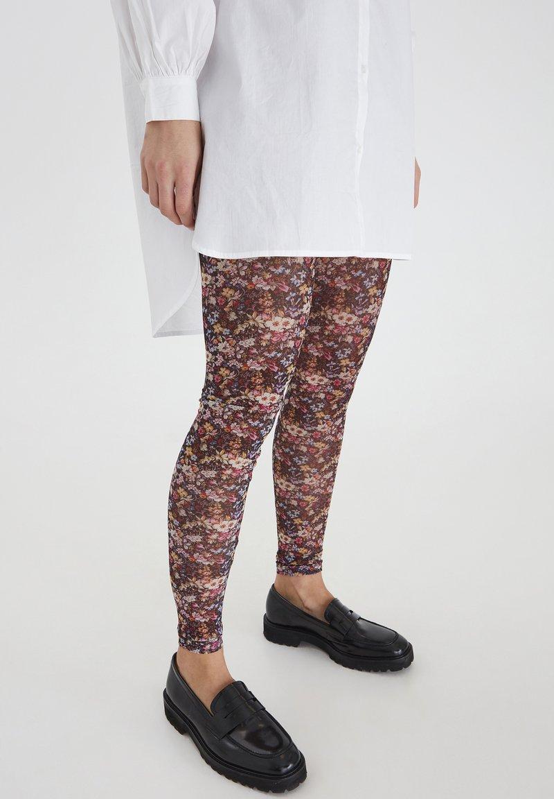ICHI - IXNIKITA - Legging - black, print
