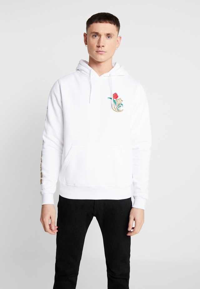 ROYAL TIMES HOODY - Luvtröja - white