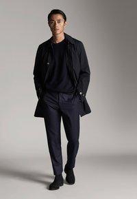 Massimo Dutti - Short coat - dark blue - 1