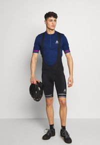 ODLO - SHORT SUSPENDERS ZEROWEIGHT DUAL - Tights - black - 1